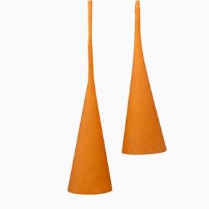 Vintage Uto Deckenlampen von Lagranja Design für Foscarini, 2er Set