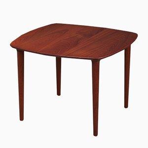 Mid-Century Danish Solid Teak Side Table, 1960s