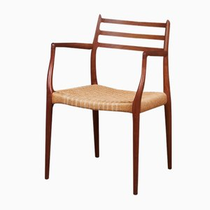 Danish Teak Model 62 Armchair by Niels Otto Møller, 1960s