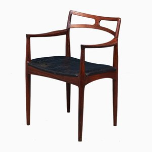 Mid-Century Rosewood Model No. 94 Armchair by Johannes Andersen for Christian Linneberg