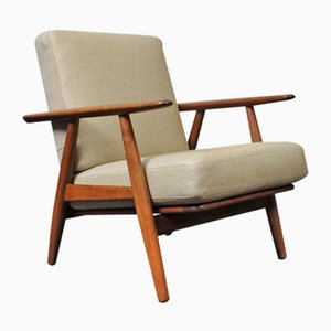 Model GE240 Lounge Chair by Hans J. Wegner for Getama, 1950s