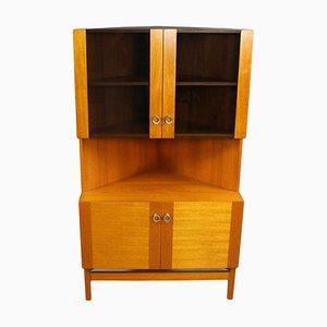 Vintage Teak Corner Cabinet by P. Rimmes, 1960s