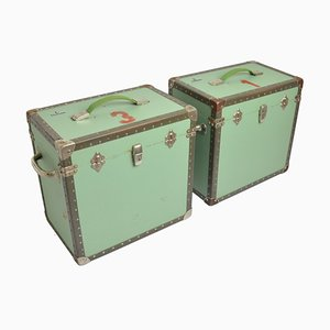 Mid-Century Trunks, Set of 2