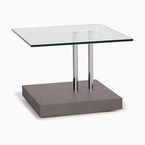 Glass Model K4245 Gray Coffee Table from Ronald Schmitt