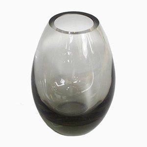 Smoked Glass Vase by Per Lütken for Holmegaard, 1960s