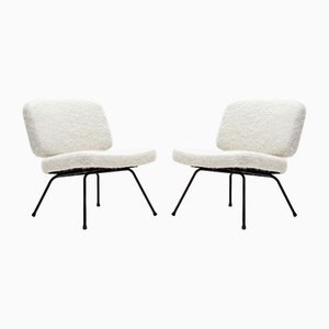 CM190 Lounge Chairs by Pierre Paulin for thonet, 1960s, Set of 2