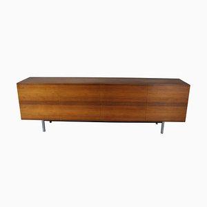 Schweizer Nussholz Sideboard, 1960er