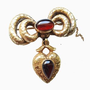 Broche Victorienne Antique