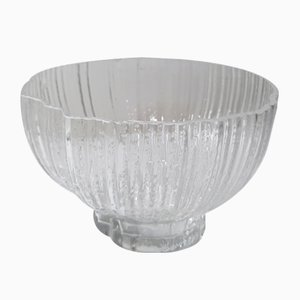 Vintage Glass Bowl Attributed to Martin Freyer & Tapio Wirkkala for Rosenthal, 1970s