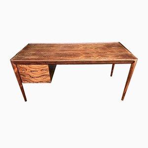 Rosewood Desk by Erik Riisager Hansen for Haslev Møbelsnedkeri, 1960s