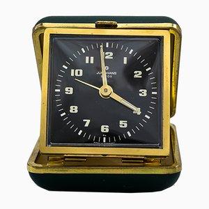 Reloj despertador de viaje de Junghans, años 50
