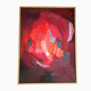 Pintura al óleo suiza de Disler, años 70