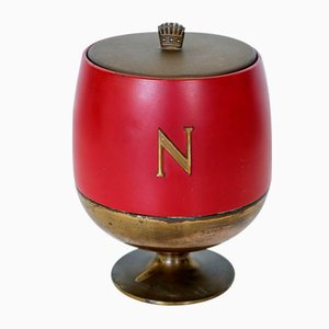 Mid-Century Italian Ice Bucket by Aldo Tura for Macabo