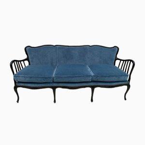 Italienisches Mid-Century Samt Sofa von Paolo Buffa, 1950er
