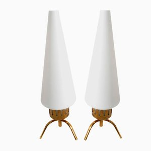 Table Lamps by Angelo Lelli for Arredoluce, 1950s, Set of 2