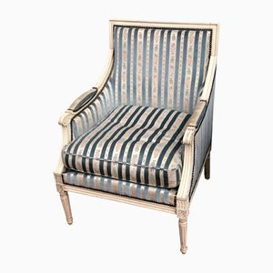19th Century French Bergere Armchairs, Set of 2