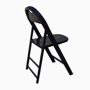 Vintage Model Tric Folding Chairs by Achille Castiglioni, Set of 4