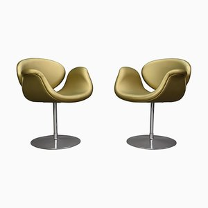 Limited Edition Tulip Swivel Armchairs by Pierre Paulin for Artifort, 1965, Set of 2
