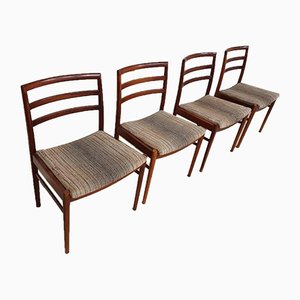 Mid-Century Teak Dining Chairs from Beithcraft, Set of 4
