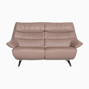 Beige Leather 4600 2-Seat Sofa from Himolla