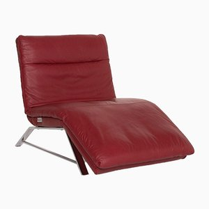 Red Leather Daily Dreams Lounger from Willi Schillig