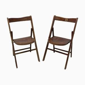 Folding Cinema Seats from Thonet, Czech, 1960s, Set of 2