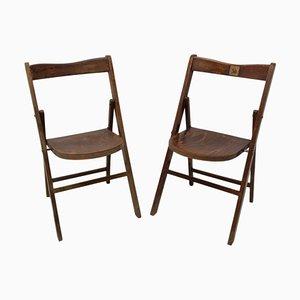 Folding Cinema Seats from Thonet, Czech, 1960s, Set of 2