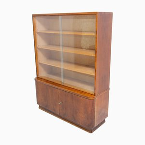 Vintage Bookcase in Walnut by Frantisek Jirak, Czech, 1960s