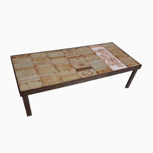 Ceramic Coffee Table by Roger Capron for Vallauris, 1960s