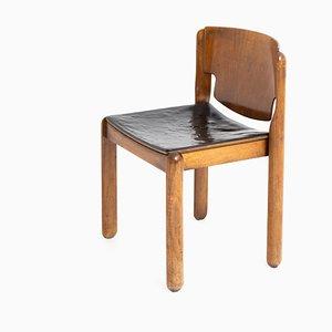 Chaise de Salle à Manger Modèle 122 Mid-Century par Vico Magistretti pour Cassina, Italie, 1960s