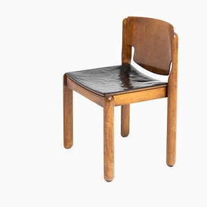 Mid-Century Italian Model 122 Dining Chair by Vico Magistretti for Cassina, 1960s