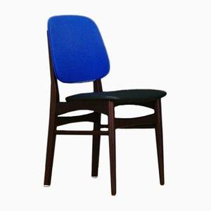 Danish Mahogany Dining Chairs, 1960s, Set of 4