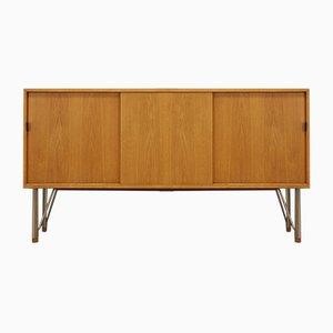 Dänisches Vintage Eschenholz Sideboard, 1960er