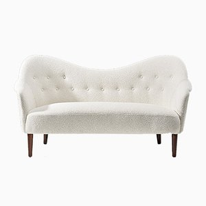 Boucle Samspel Sofa by Carl Malmsten for AB Record, 1950s
