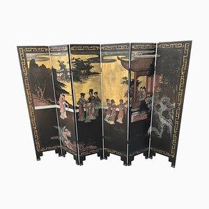 Panel Oriental Separé antiguo