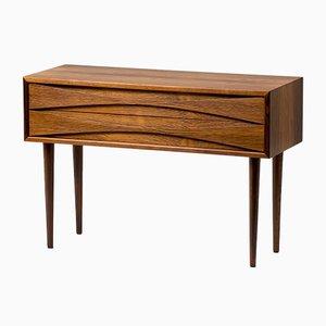Tables de Chevet en Palissandre par Clausen pour NC Mobler, 1960s, Set de 2