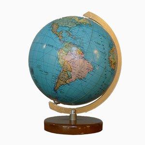 Small Mid-Century 14 cm Globe from JRO-Verlag, 1960s