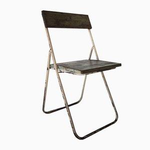 Chaise Pliante Industrielle Vintage