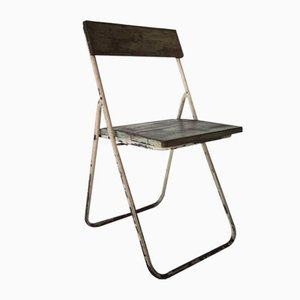 Vintage Industrial Folding Chair