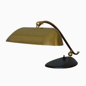 Mid-Century Piano Lamp in Brass, 1950s