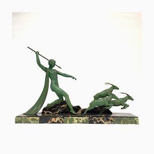 Escultura Art Déco de D'Auvergne, años 30