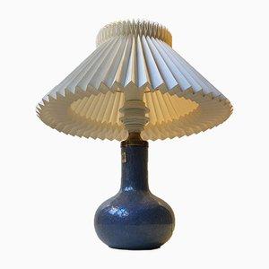 Lampe de Bureau Troll Vintage en Verre par Sidse Werner pour Holmegaard, Danemark, 1970s