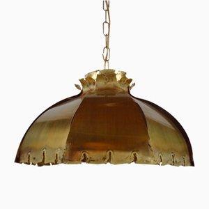 Mid-Century Danish Floral Ceiling Lamp by Svend Aage Holm Sørensen for Holm Sørensen & Co