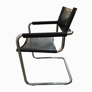 Vintage MG5 Armchair by Marcel Breuer for Jox Interni, 1970s