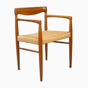 Danish Teak Dining Chair by H. W. Klein for Bramin, 1960s