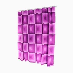 Tela para cortinas de Verner Panton para Mira-X, años 60. Juego de 2