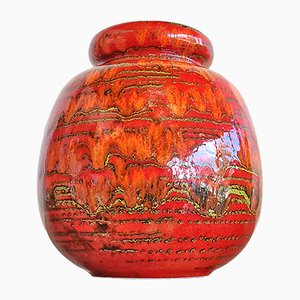 Nr. Vase 284/19 Ceramos Ball de Scheurich, 1970s