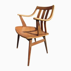 Mid-Century Teak Armchairs, 1960s, Set of 4