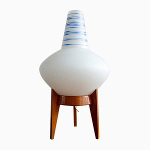 Vintage Czechoslovakian Table Lamp from Uluv, 1960s