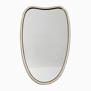 Heart-Shaped Golden Mirror, 1950s